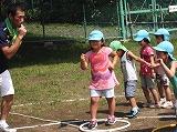 8月4日 体育遊び(年長グループ)